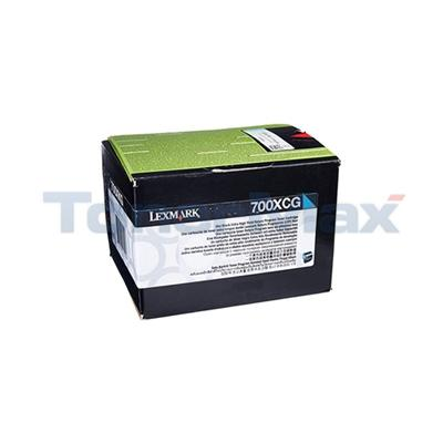 LEXMARK CS310 RP TONER CARTRIDGE CYAN 4K